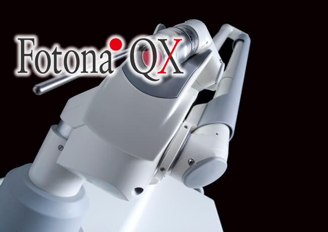 当院で使用する医療用レーザー機器「Fotona QX(フォトナ)」の機器