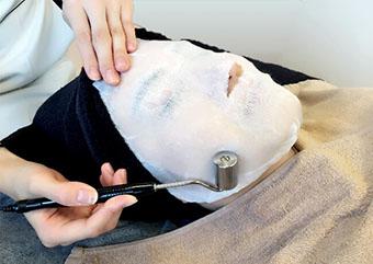 たろうメディカルクリニックのシミ・くすみ治療 イオン導入 画像